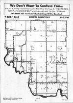 Map Image 006, Cass County 1992